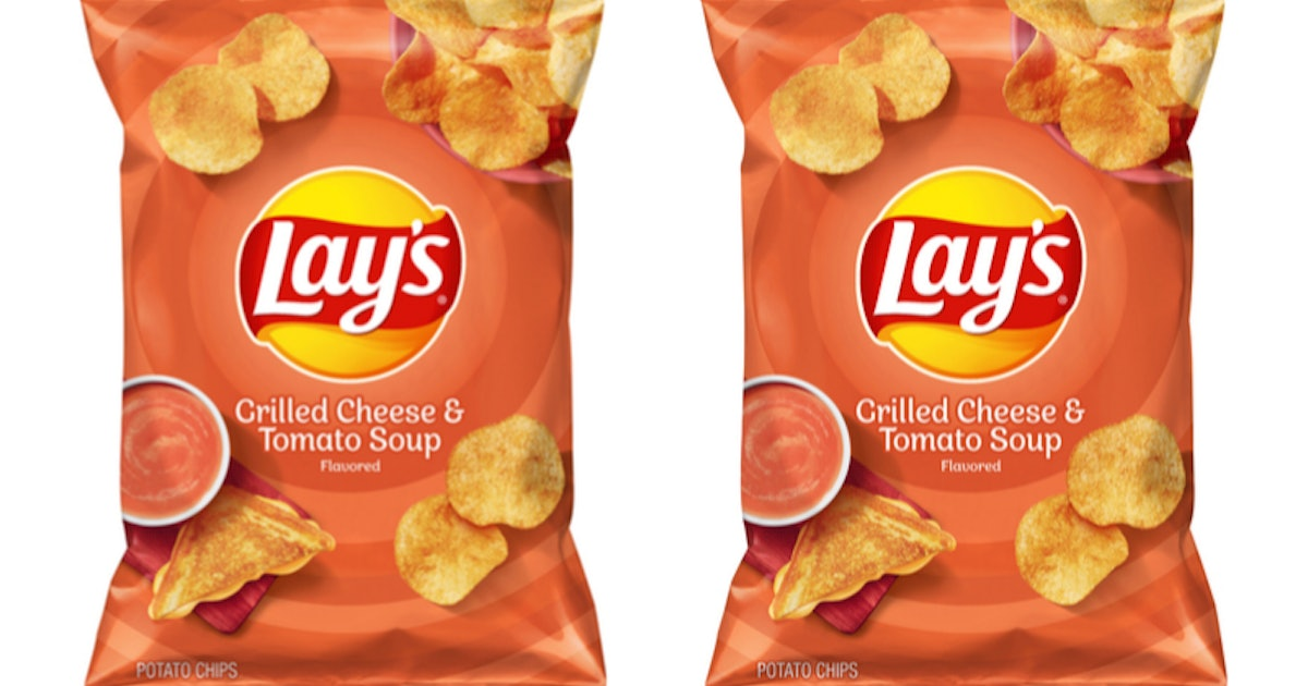 Lay's New Grilled Cheese & Tomato Soup-Flavored Chips Are Peak Comfort Food
