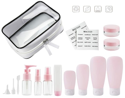 Magigo Toiletries Leak-Proof Travel Bottle Set