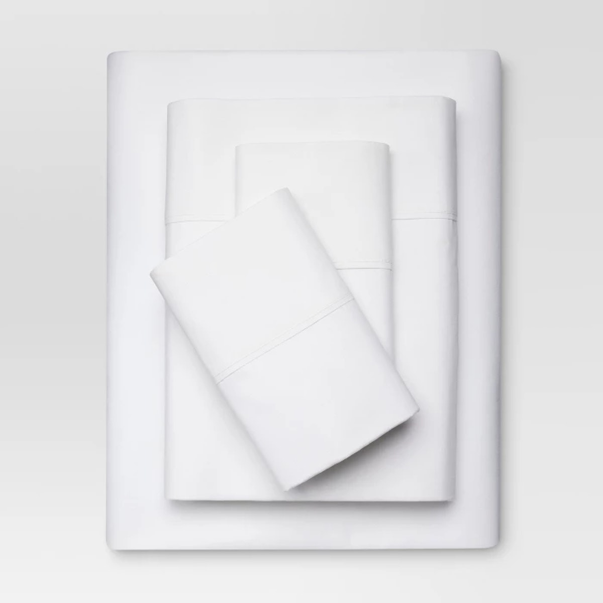 300 Thread Count Organic Cotton Solid Sheet Set - Threshold™