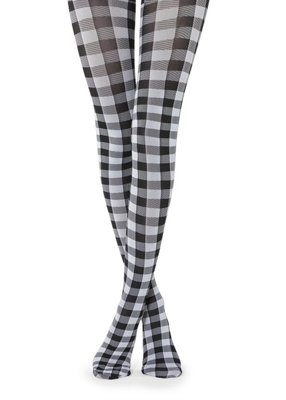 Gingham Plaid Tights