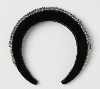 Padded Sparkly Alice Band