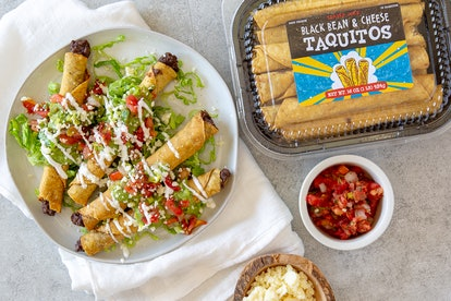 These black bean and cheese taquitos are the perfect quick meal. Image credit: Trader Joe's