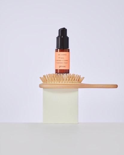 Custom bottle of Prose's new Dry Shampoo