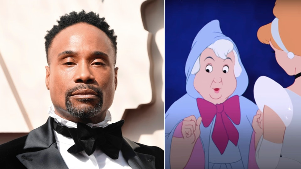 Billy Porter has confirmed that he'll be starring at the Fairy Godmother in the live-action remake of 'Cinderella'