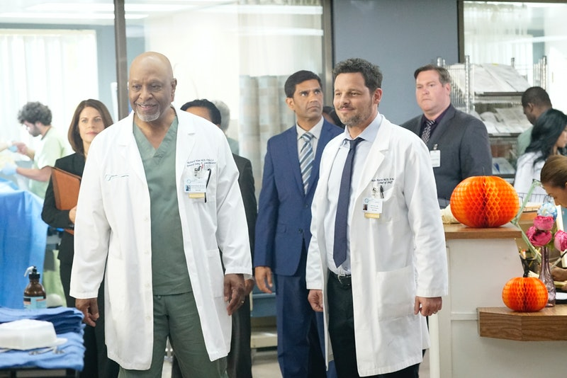 RIchard Webber and Alex Karen at Pac North, which could easily merge with Grey Sloan on 'Grey's Anatomy'.