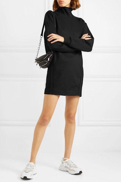 Sunnyside Cotton-Blend Terry Mini Dress