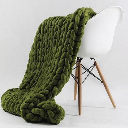 Vegan Knit Blanket