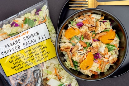 Prepare a flavorful chopped salad in just a few minutes. Image credit: Trader Joe's