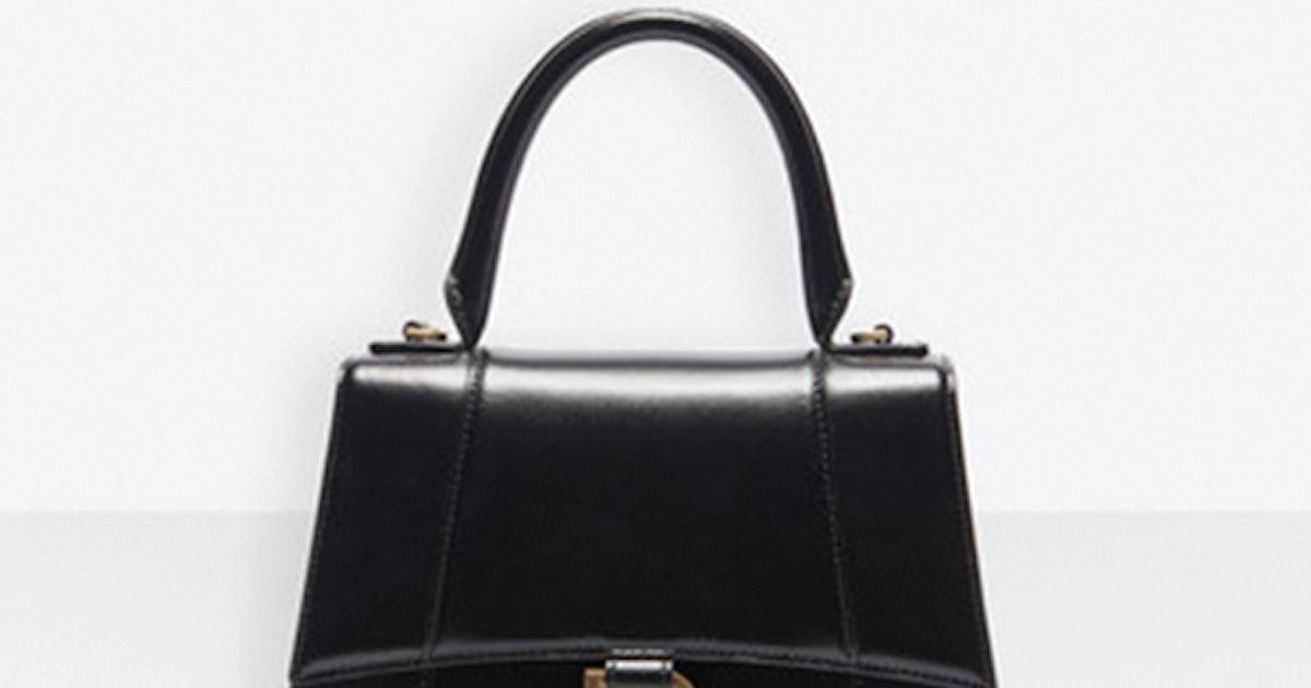 Balenciaga's New Hourglass Bag Is Already Hailey Baldwin-Approved