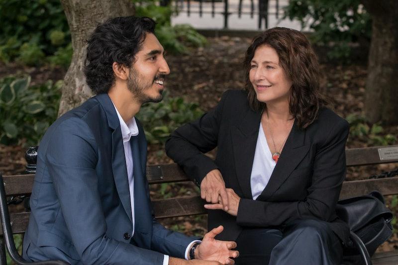 Dev Patel and Catherine Keener in Modern Love