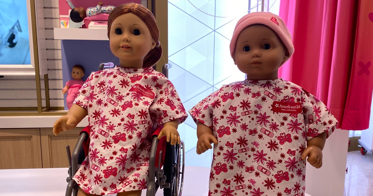 American Girl Hospitals Open In NYC & Chicago To Treat Your Kid's Dolls