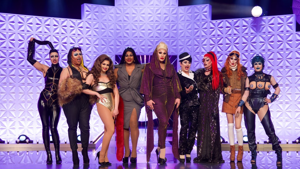 The cast of Rupaul's Drag Race UK have a Whatsapp group, and the tea is being spilled