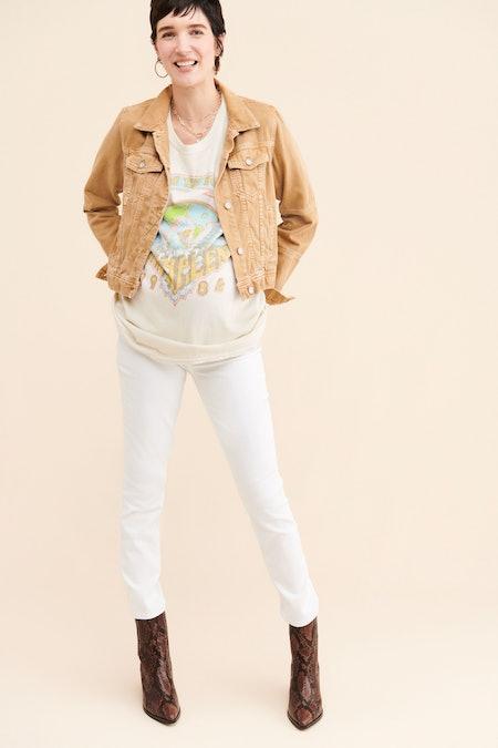 Paige Maternity Skyline Ankle Skinny Jeans