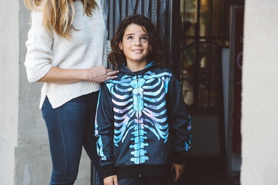 Kids Skeleton Hoodie