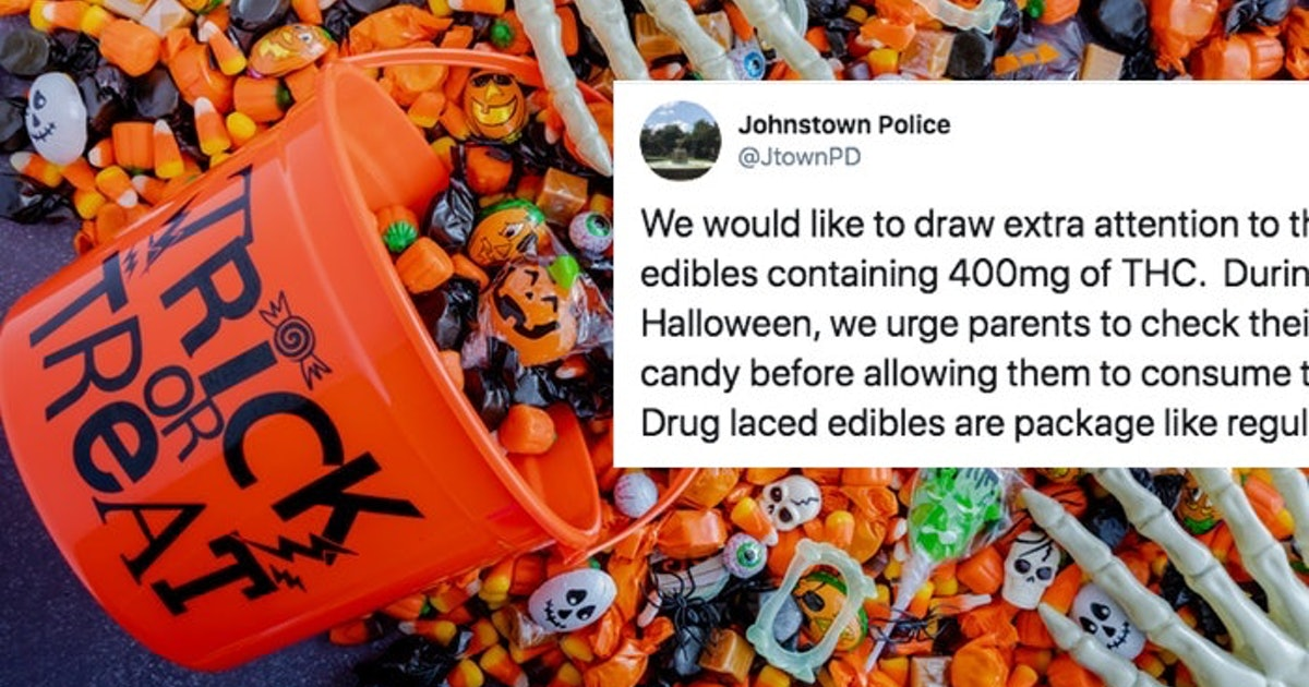 Police Warn Parents About THC-Laced Edibles Ahead Of Halloween, But Don't Panic