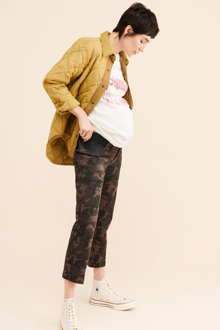 DL1961 Maternity Jerry Camo Jeans