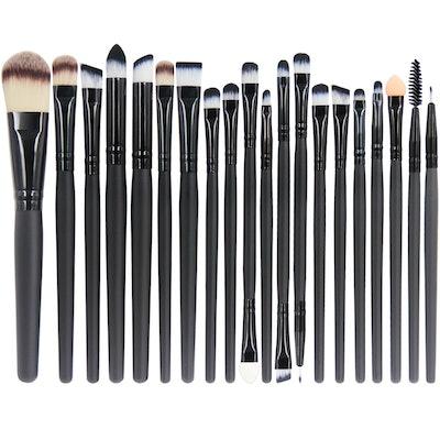 EmaxDesign 20-Piece Makeup Brush Set