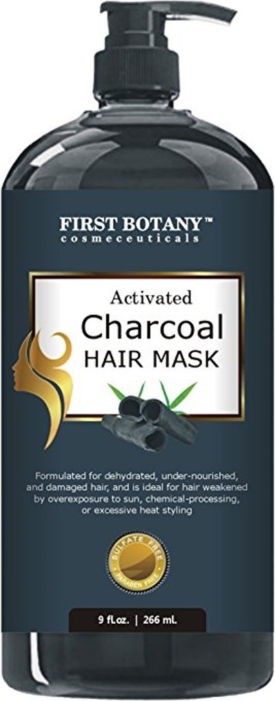 First Botany Cosmeceuticals Activated Charcoal Hair Mask