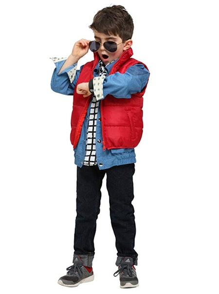 Toddler Marty McFly Costume