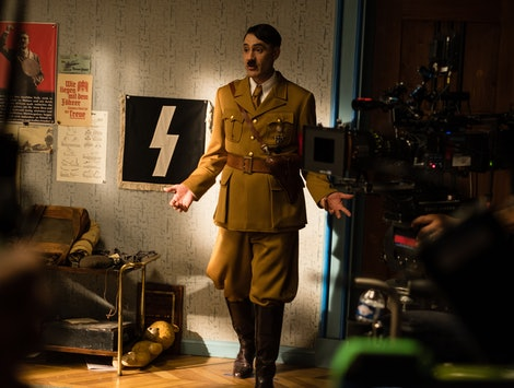Taika Waititi as Hitler in Jojo Rabbit