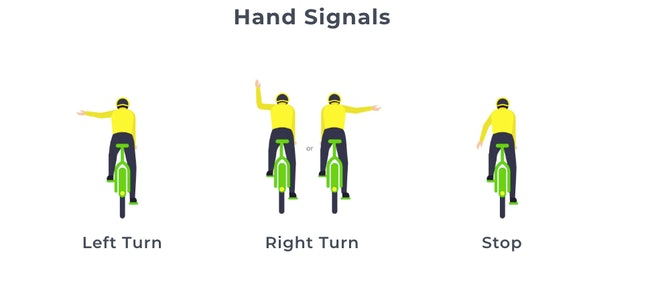 Use hand signals while using a Lime electric scooter in San Francisco and other cities.