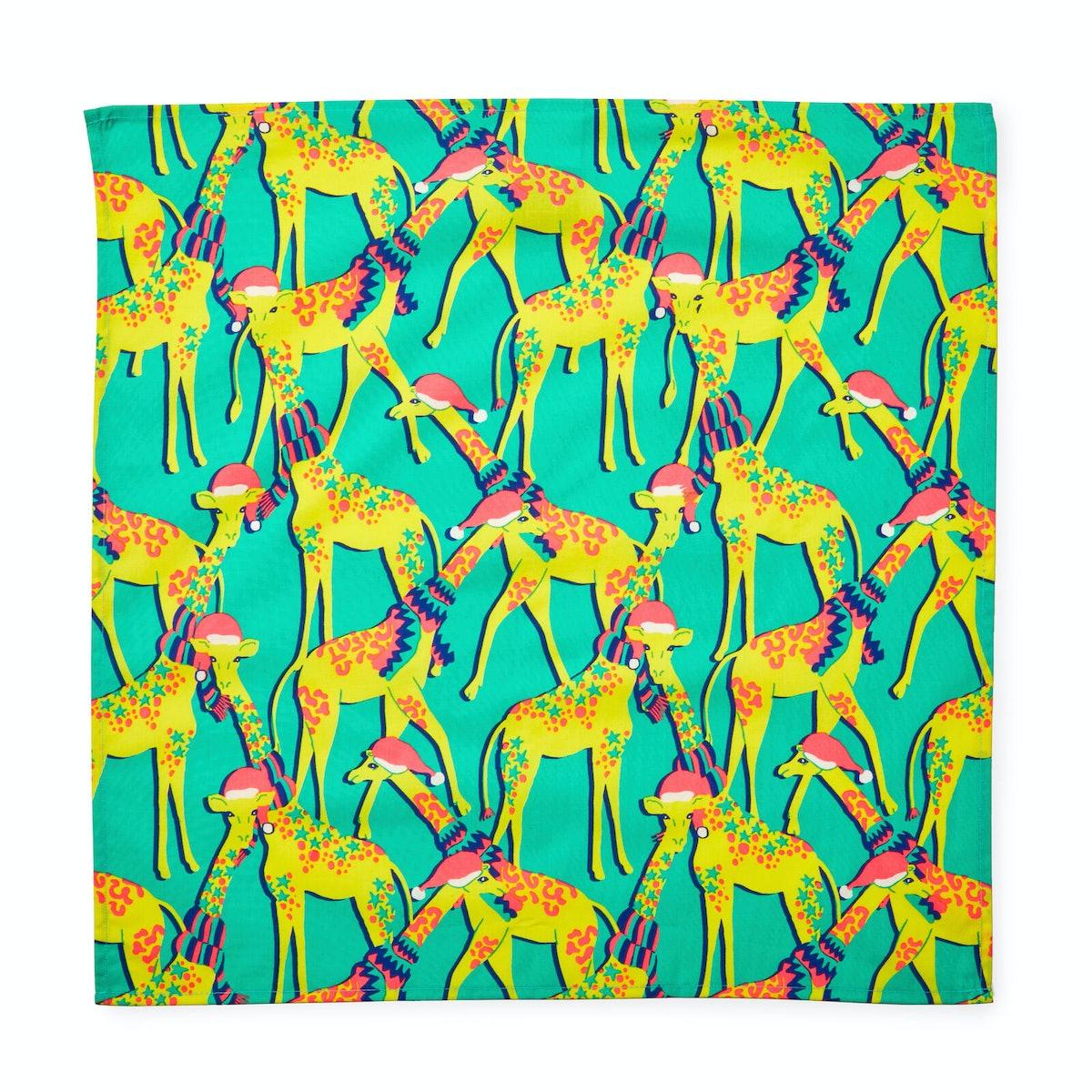 Giraffes Knot Wrap