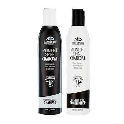 Marc Daniels Charcoal Shampoo and Conditioner Set
