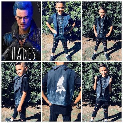 Hades Vest and Tee Shirt