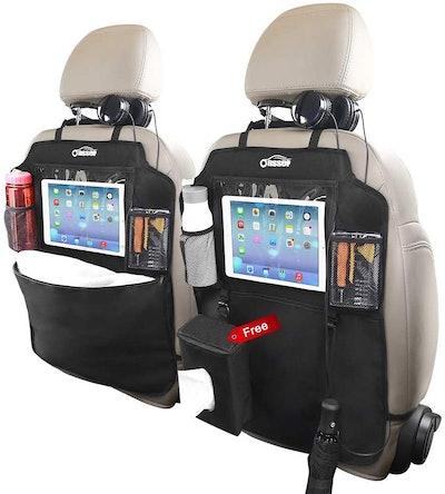 Oasser Kick Mats Car Seat Back Protectors