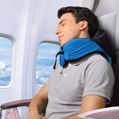 Langria 6-in-1 Memory Foam Travel Pillow
