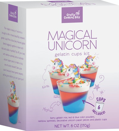 Crafty Cooking Kits Magical Unicorn Gelatin Cups Kit