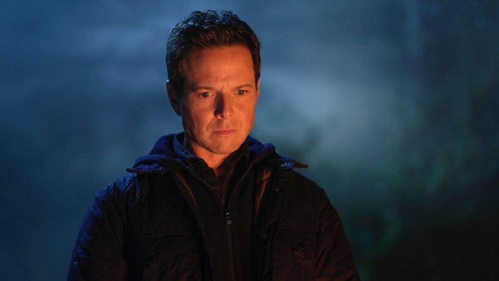 Scott Wolf as Carson Drew in Nancy Drew on the CW.