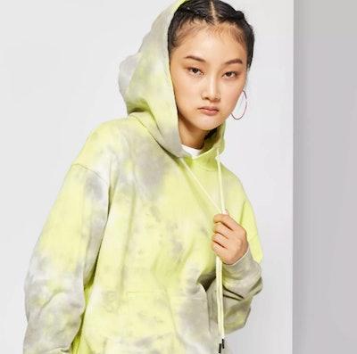 Women's Tie Dye Hooded Sweatshirt