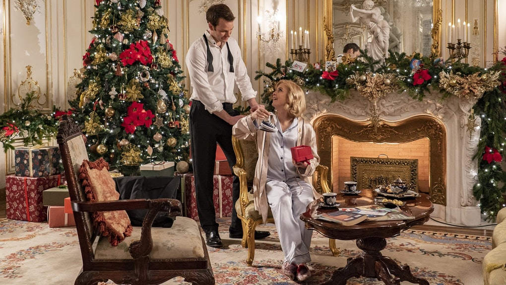 The cast of The Christmas Prince: A Royal Baby on Netflix