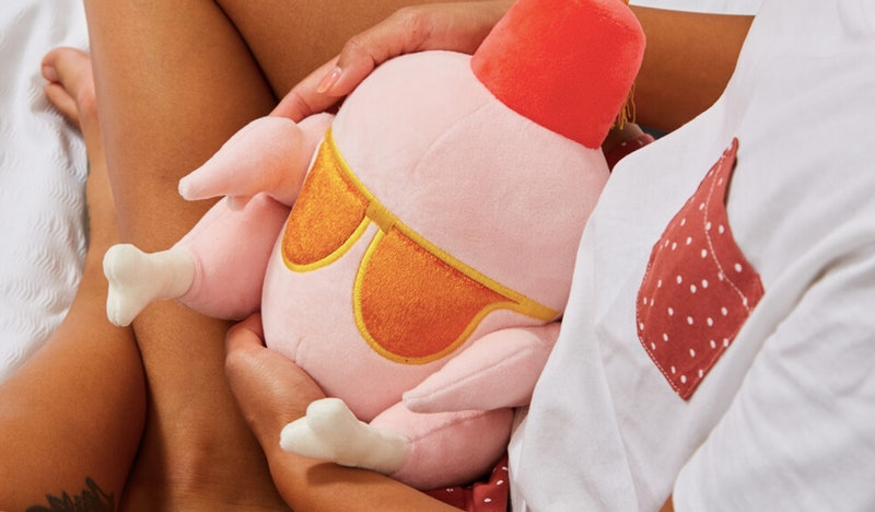 You can get a Heated Huggable Turkey from Firebox.