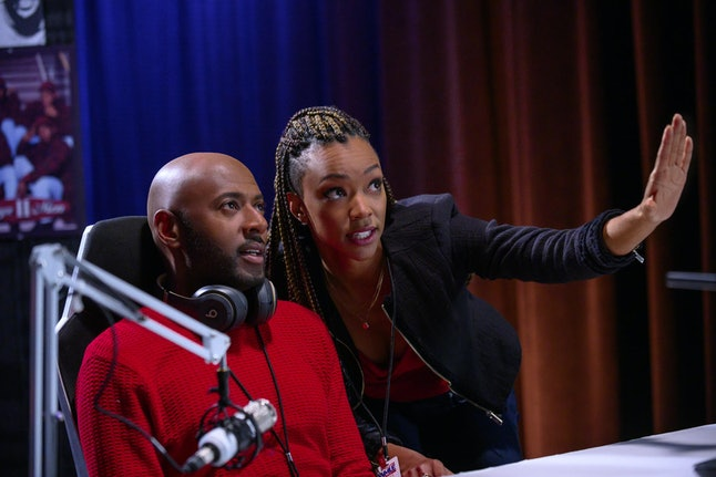 Romany Malco and Sonequa Martin-Green star in 'Holiday Rush' as part of Netflix's holiday movie lineup