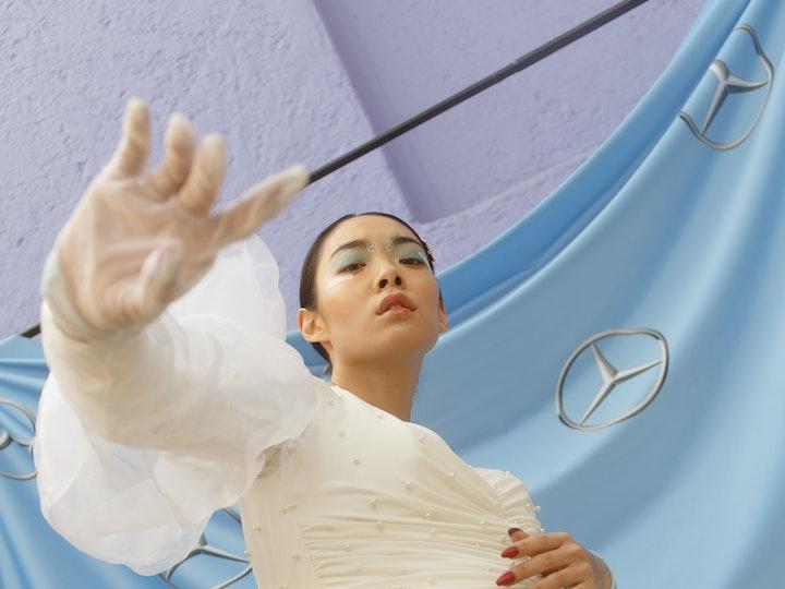 Rina Sawayama at Fashion Week Mexico City