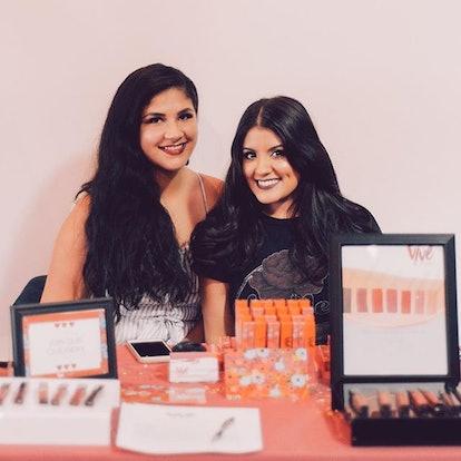 Joanna Rosario and Leslie Valdivia, founders of Vive Cosmetics.