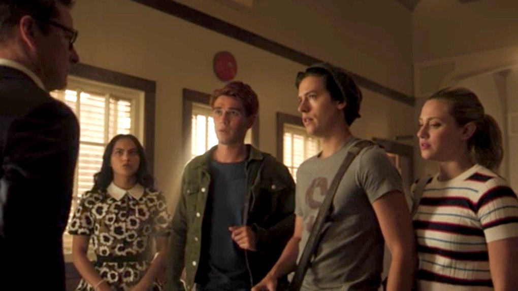 Archie, Veronica, Jughead, and Betty meet new principal Mr. Honey in 'Riverdale' Season 4