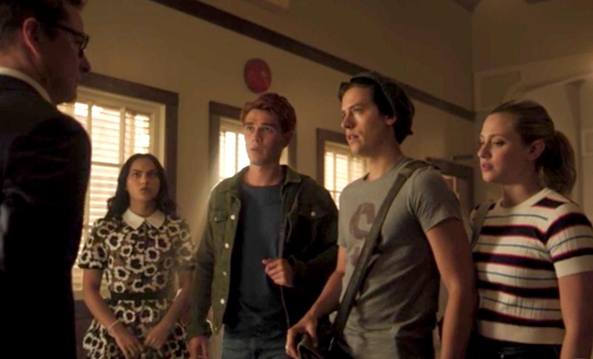Archie, Veronica, Jughead, and Betty meet new principal Mr. Honey in 'Riverdale' Season 4