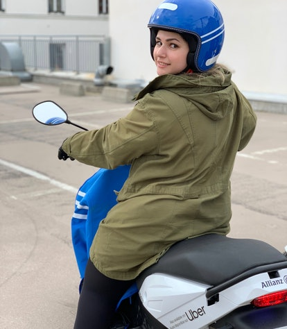 Uber will offer mopeds on its app.