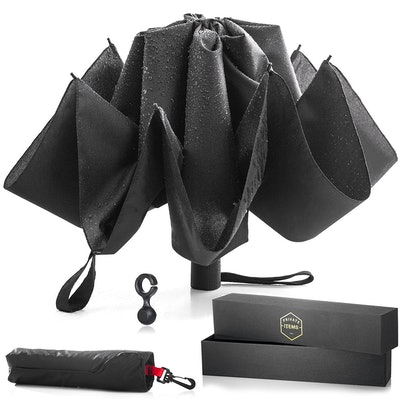 His Private Items Upside Down Reversible Umbrella