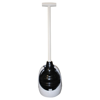 Korky Beehive Max Universal Toilet Plunger and Holder