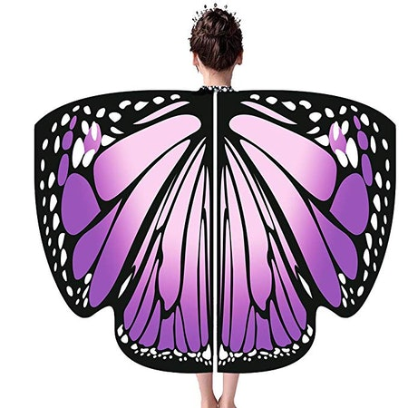 Shireake Baby Cartoon Butterfly Wings Costume Play Butterfly Wings for Kids