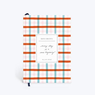 Liv Purvis x Papier Gingham Dreams Diary