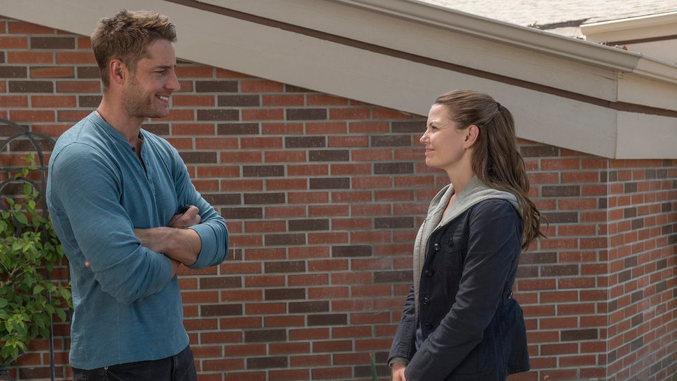 Kevin and Cassidy talking outside of AA on This Is Us Season 4.