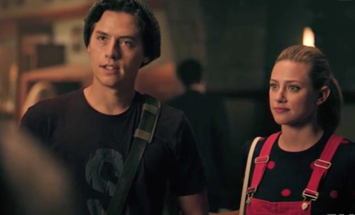 Betty and Jughead tour Stonewall Prep on 'Riverdale'