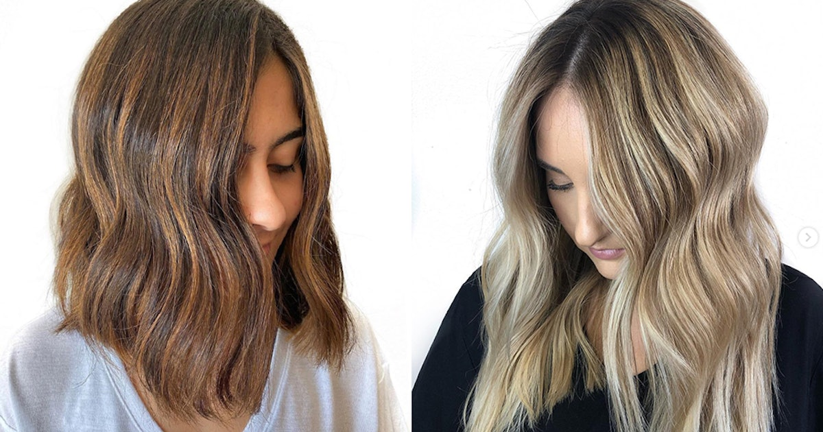 The Tweed Hair Color Trend Is The Best Way To Get Dimension This Fall