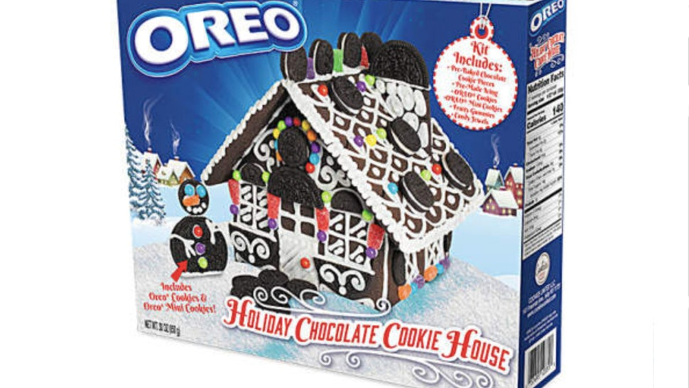 Oreo Just Debuted Its New Gingerbread House In Time For The Holidays