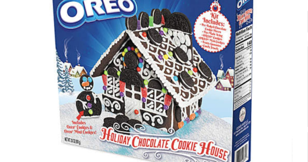 Oreo's Holiday Cookie House Set Just Canceled Gingerbread